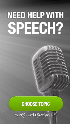 need help with speech?